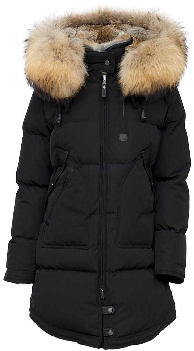 dame jakke med pels