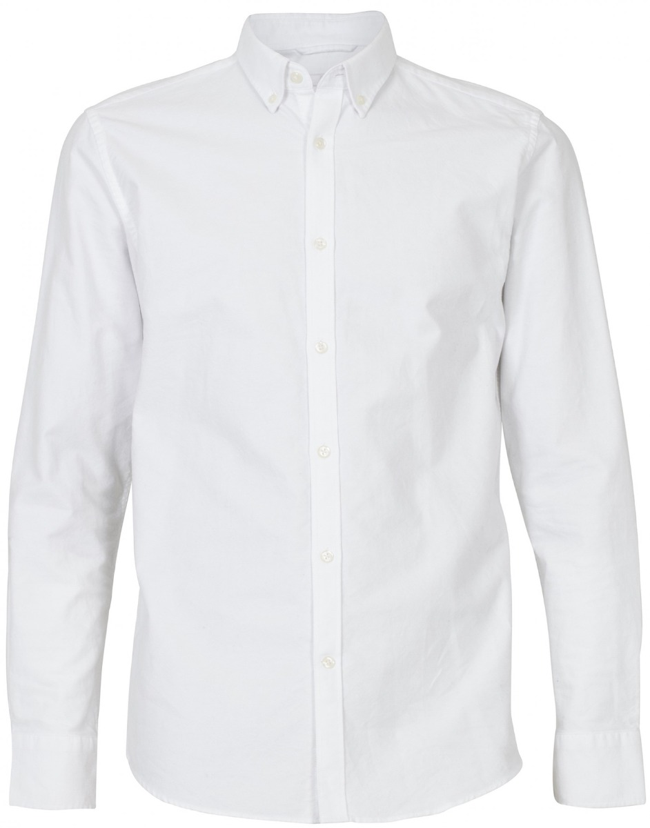 DUNCAN OXFORD SHIRT HVIT SKJORTE | Hoyer.no