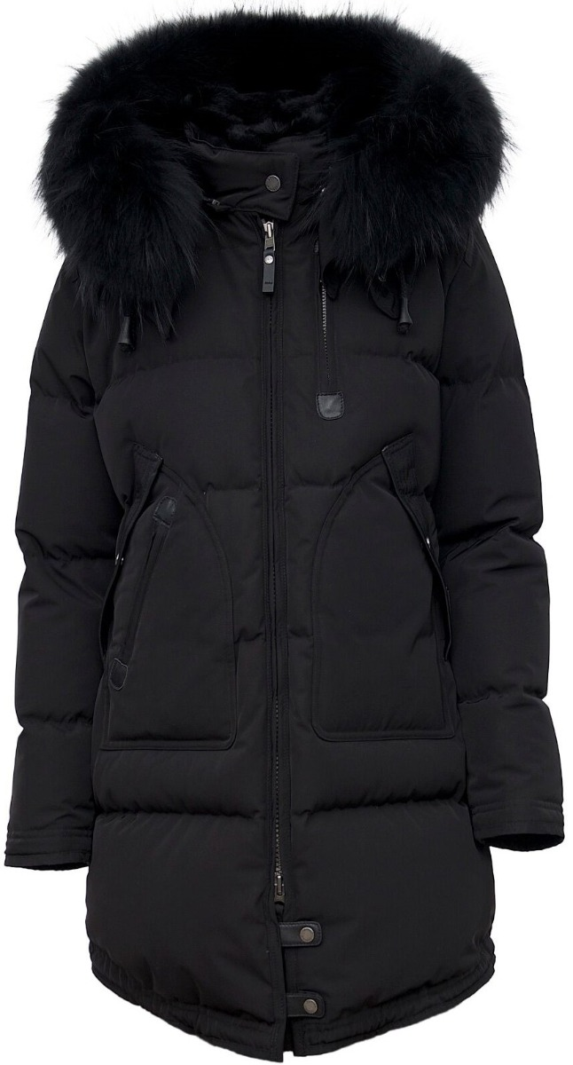 Sort jakke | Vannucci | Dunjakker | Miinto.no