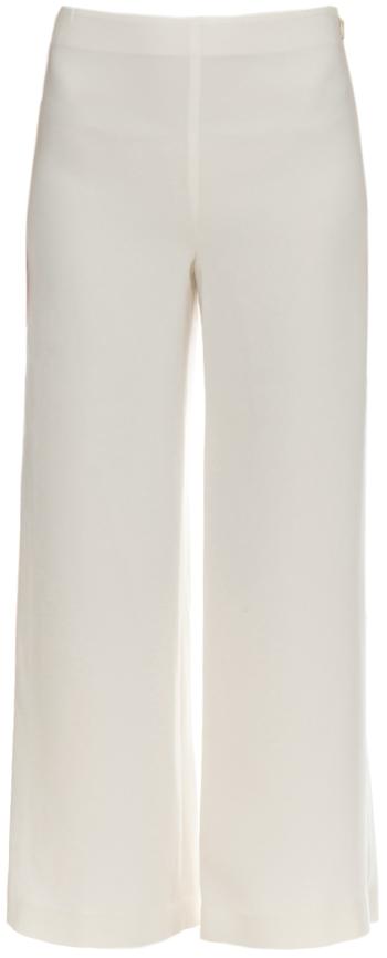 Cropped bukse Hvit DAME   H&M NO