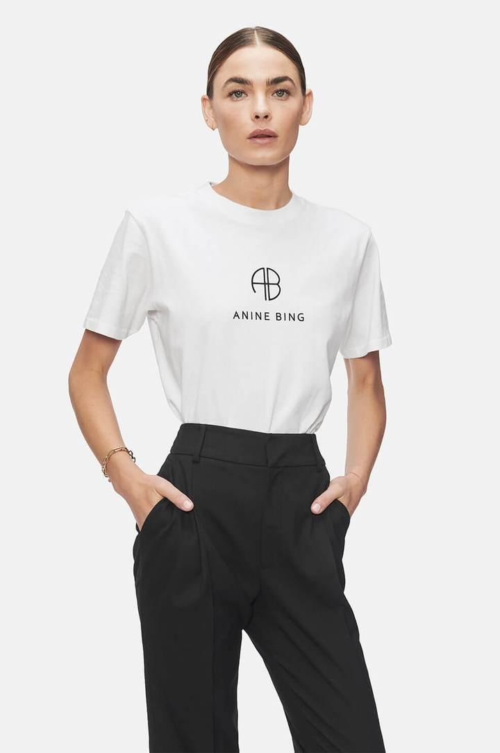 Anine Bing Mika hvit skjorte | Hoyer.no