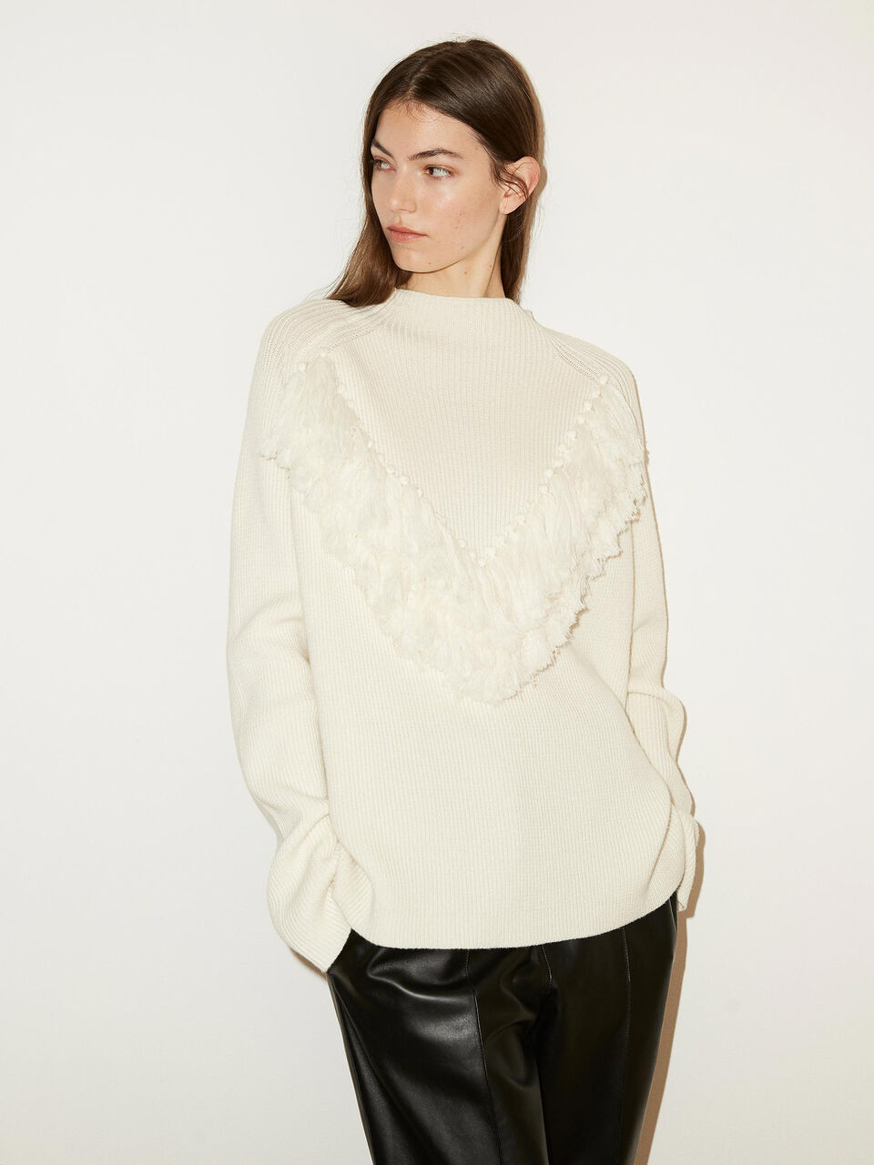 By Malene Birger Nelia kremhvit genser | Hoyer.no